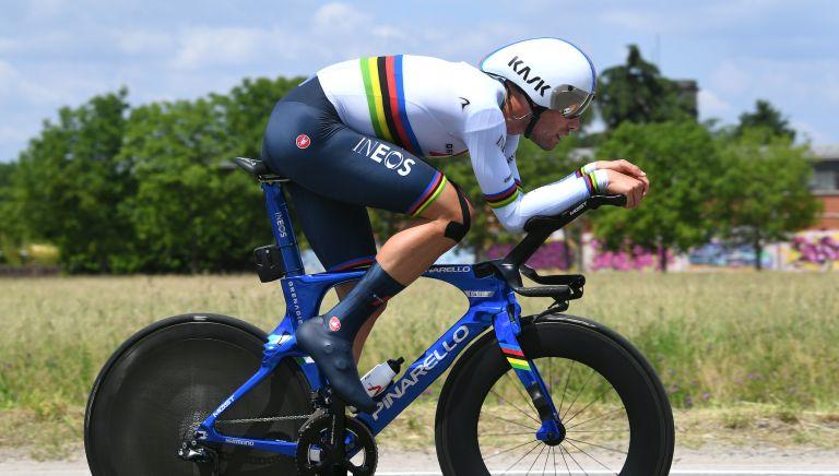 Filippo Ganna at the 2021 Giro d'Italia
