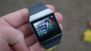 The Fitbit Ionic is feature-packed, but sometimes feels lacking in power