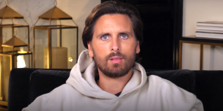 Scott Disick looks dumb-struck on Keeping Up With the Kardashians