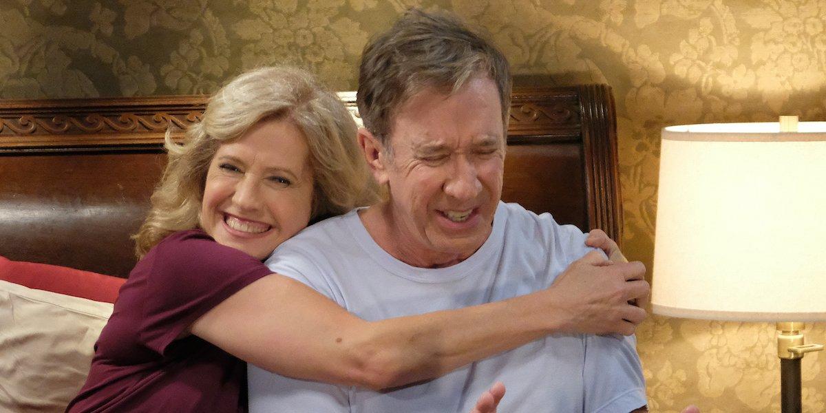 Why Last Man Standing S Tim Allen Got Emotional Filming Home Improvement Crossover Cinemablend