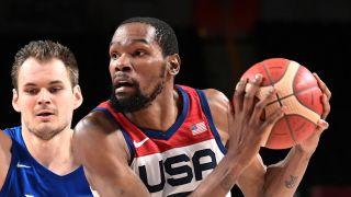Team USA vs Spain olympic men's basketball