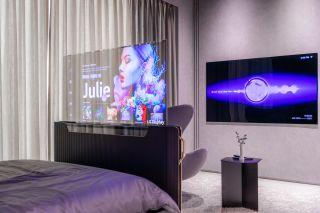LG Transparent OLED Smart Bed