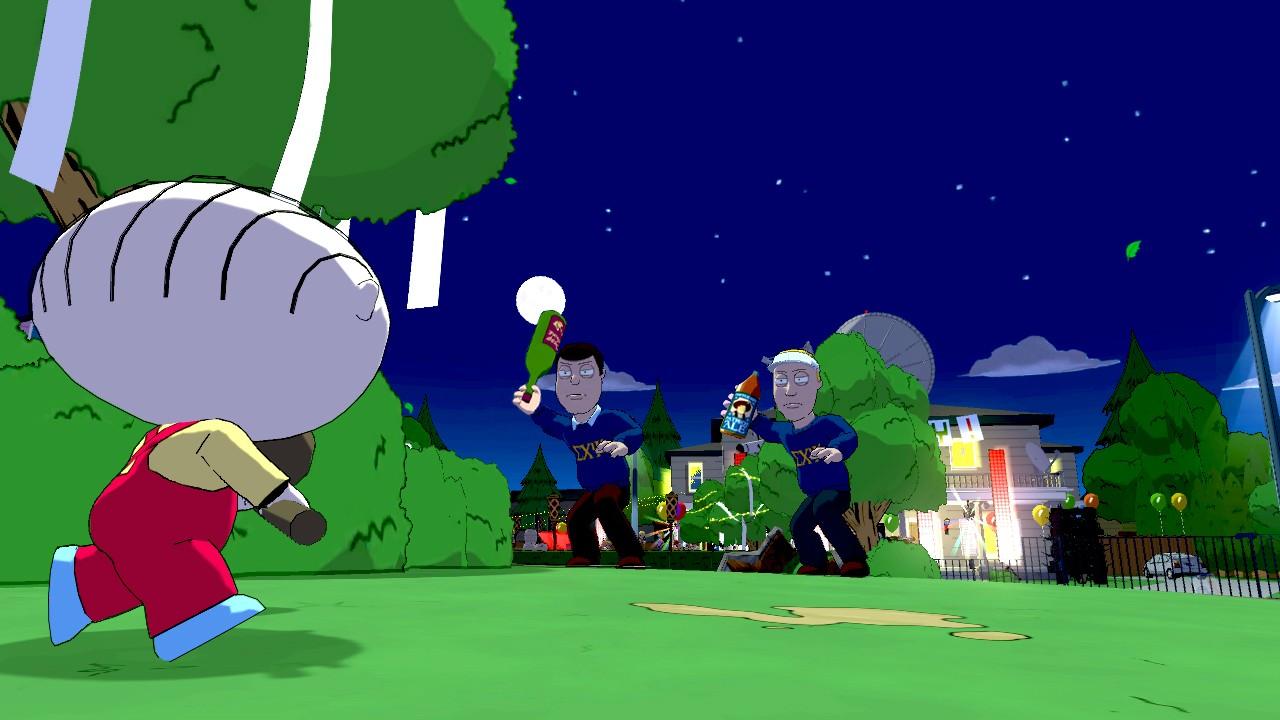 Family Guy: Back to the Multiverse Screenshots Shoot Up Quahog #22915