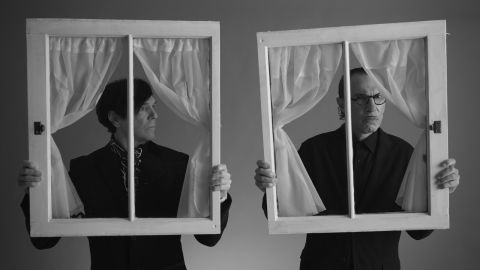 """Ron and Russell Mael of Sparks in """"The Sparks Brothers"""""""