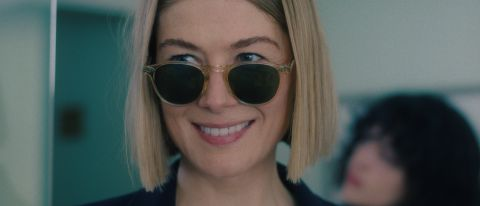 """Rosamund Pike as Marla Grayson in """"I Care A Lot."""""""