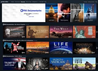 PBS Documentaries channel on Prime Video