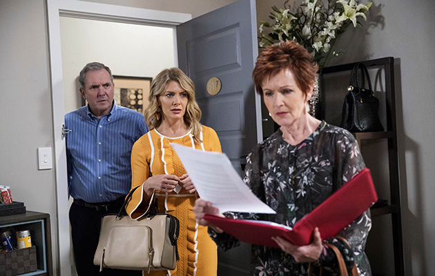 Susan's floored to discover the real reason for Izzy's return in Neighbours