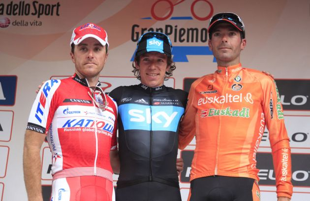 Rigoberto Uran wins Giro del Piemonte 2012