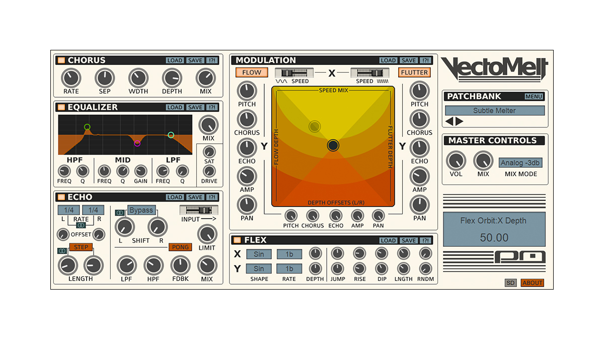 Psychic Modulation heats up the multi-effect market with its VectoMelt plugin | MusicRadar