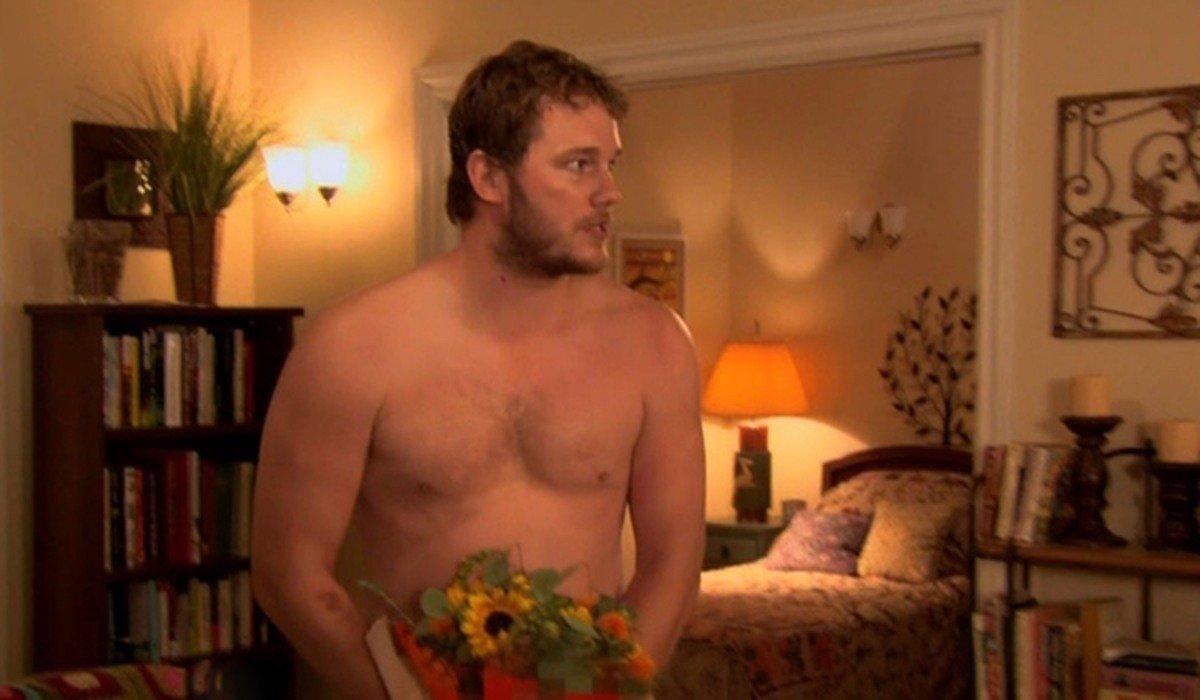 "Chris Pratt as Andy Dwyer in Parks and Recreation Season 2 ""Kaboom"""