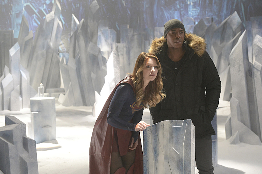 Supergirl: Check Out The First Look At The Fortress Of Solitude #35557
