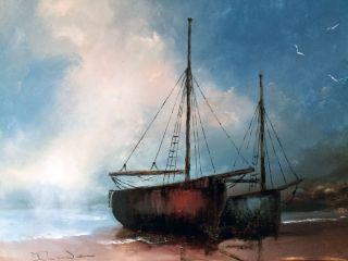 Paint a seascape: 12