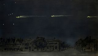 1913 Meteor Procession in Toronto
