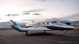 Virgin Galactic unveiled its first SpaceShip III vehicle, VSS Imagine, on March 30, 2021.