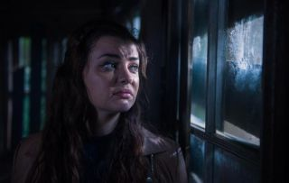 Celine in the Shack in Hollyoaks