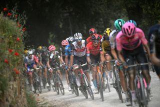 Giro d'Italia 'Strade Bianche' stage 11