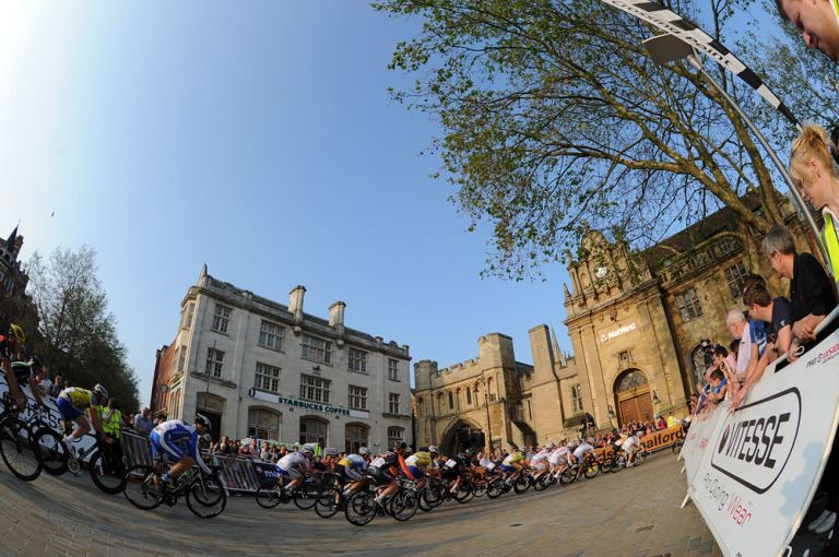 The Tour Series visited Peterborough, but commuters are having a harder time