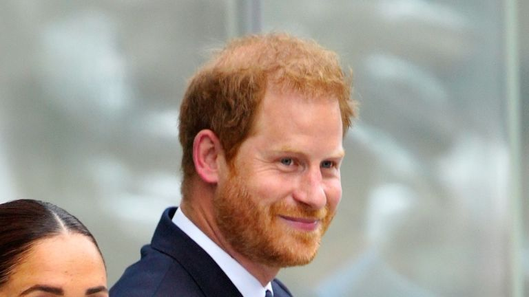 The sweet way Prince Harry is paying tribute to Archie during his New York City trip with Meghan Markle