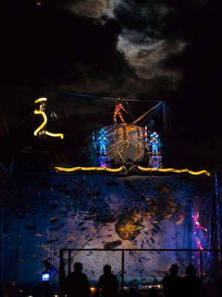 Caravan Stage Company Sets Sail With Projection Mapping