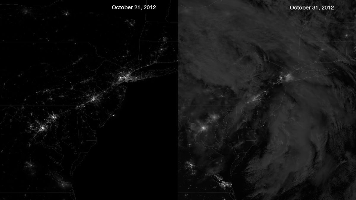 The Dark Lining To Silver Cloud In >> New York's Power Outages Offer Rare Stargazing Opportunity   Space