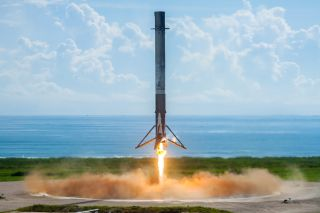 Falcon 9 Lands After X-37B Launch