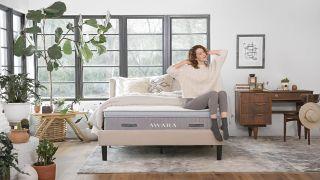 Sleep better with $300 off the organic Awara mattress this Halloween