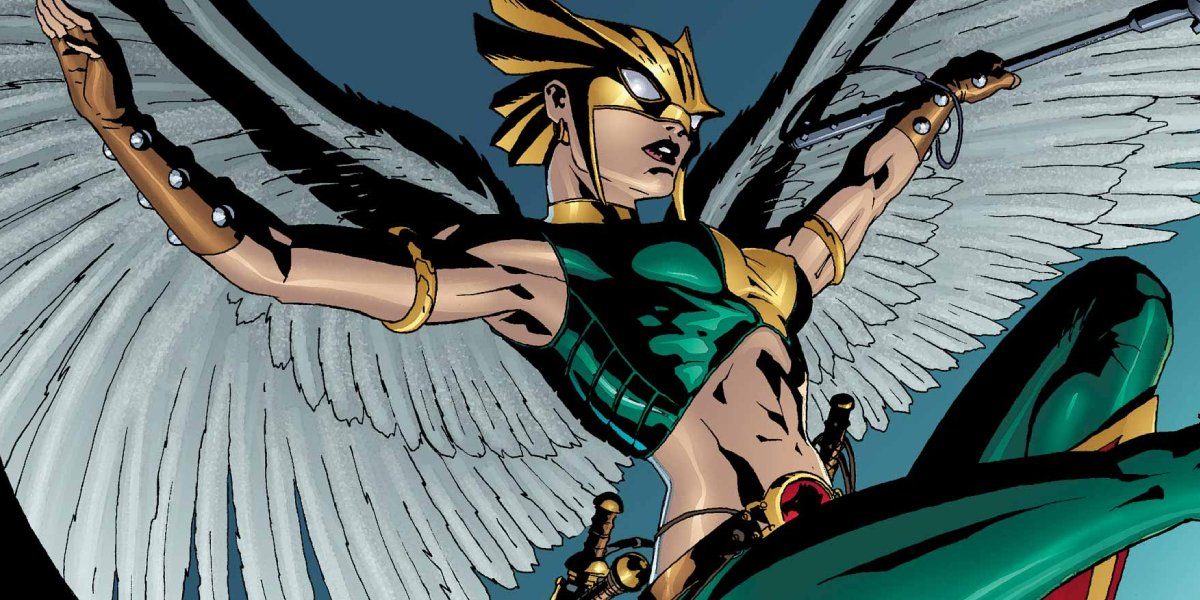 Kendra Saunders is Hawkgirl