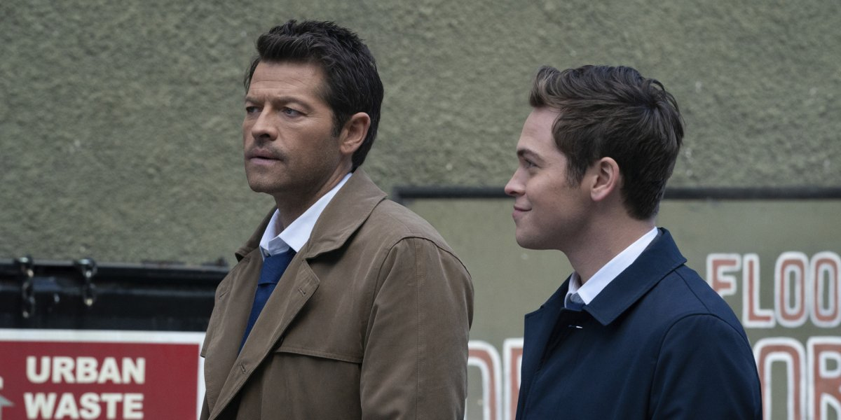 supernatural season 15 gimme shelter castiel jack the cw