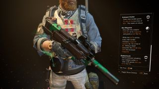 How to get the Chatterbox P90 exotic SMG in The Division 2
