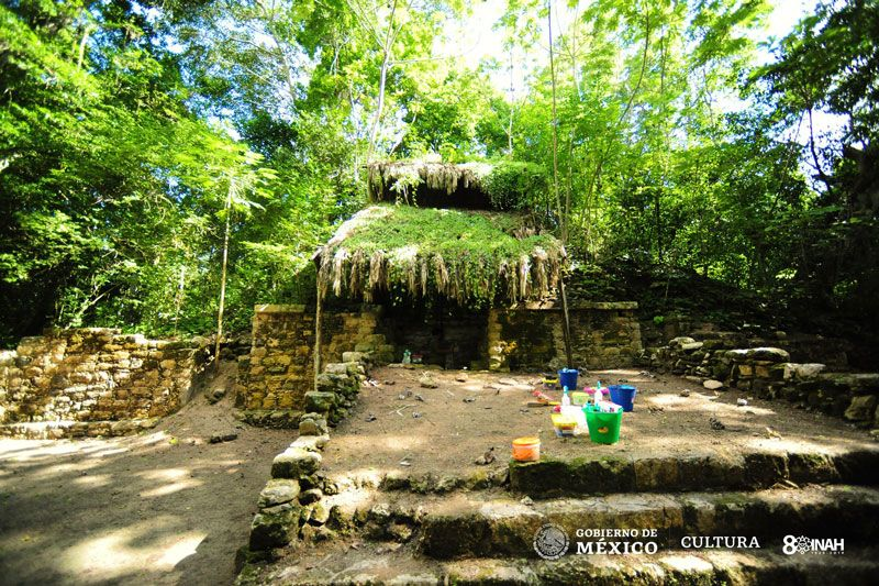 Maya Palace Discovered Deep in the Mexican Jungle