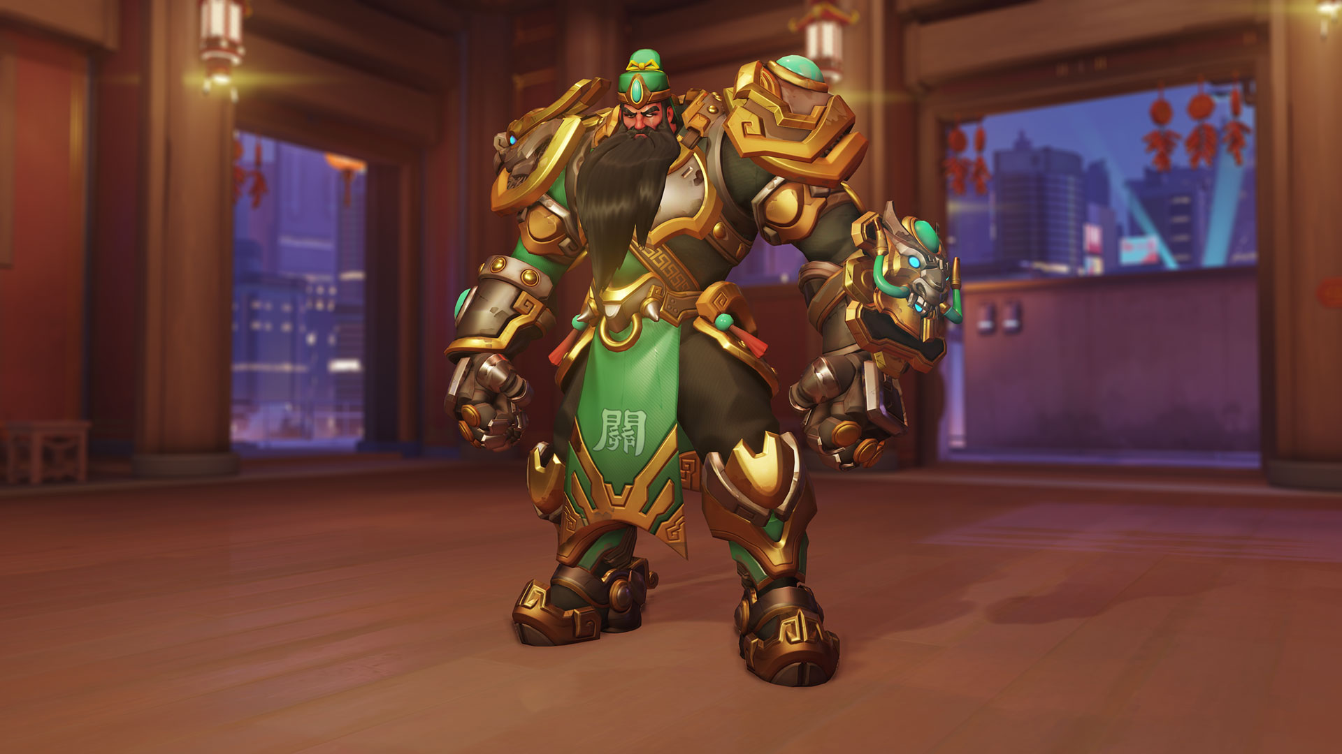 Here's all the Overwatch Lunar New Year skins