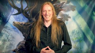 Jari Mäenpää from Wintersun