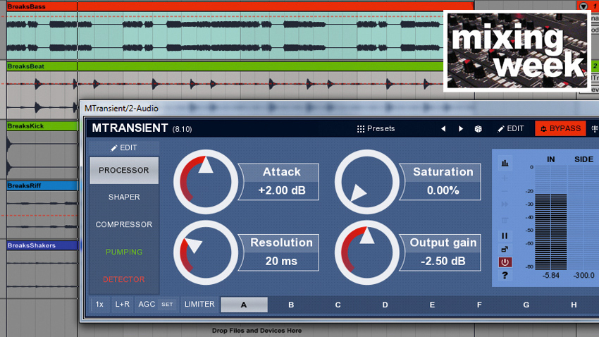 How to perfect a mix's punch with pro-grade transient shaping