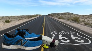 Route 66 and shoes