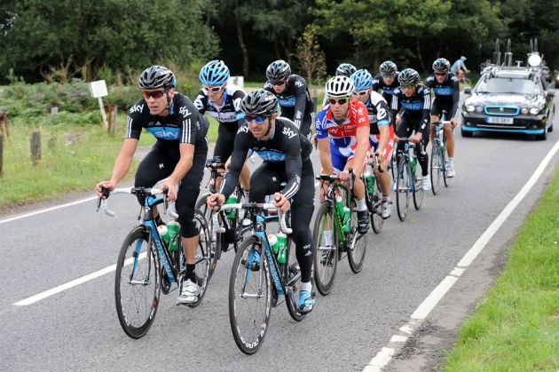 Great Britain and England group, London Surrey Cycle Classic training, Saturday August 13