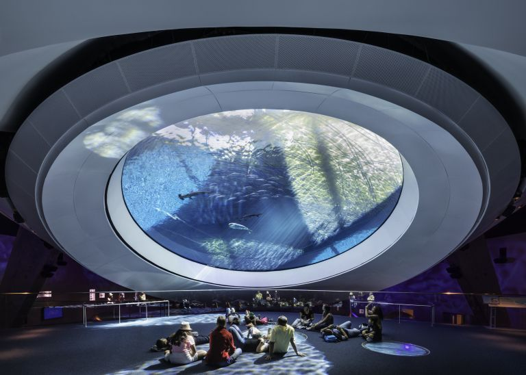 Patricia and Phillip Frost Museum of Science by Grimshaw