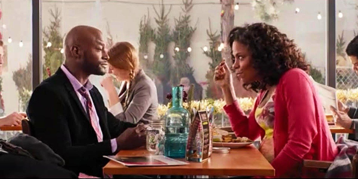 Sanaa Lathan and Taye Diggs in The Best Man Holiday