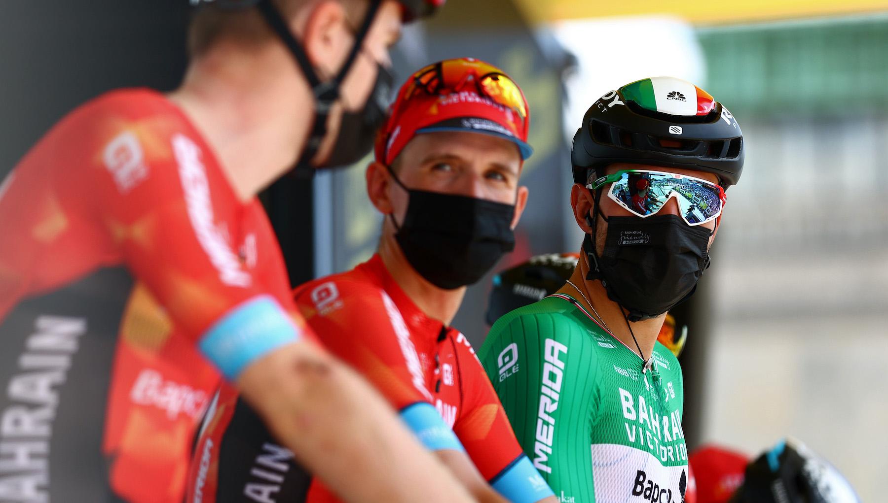 Bahrain Victorious at the 2021 Tour de France