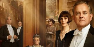 Downton Abbey most of the main cast lined up on the poster
