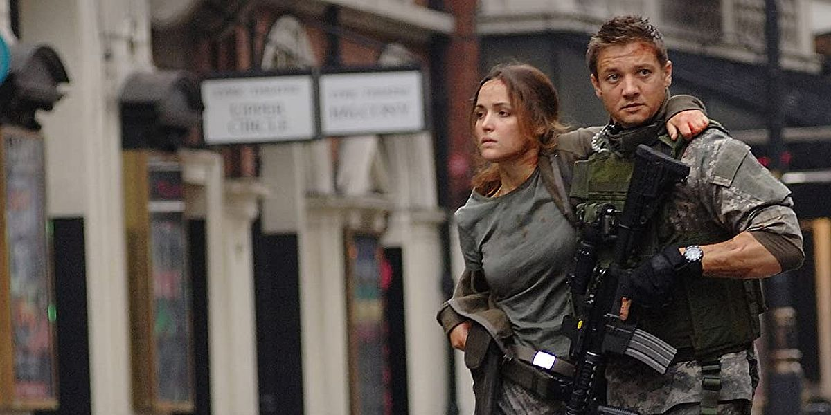 Jeremy Renner in 28 Weeks Later