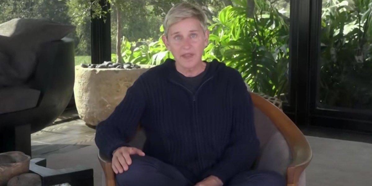 Ellen DeGeneres on Ellen (2020)