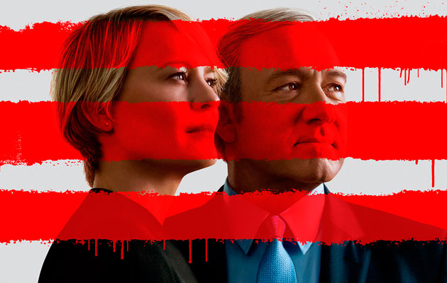 House Of Cards Burning Series