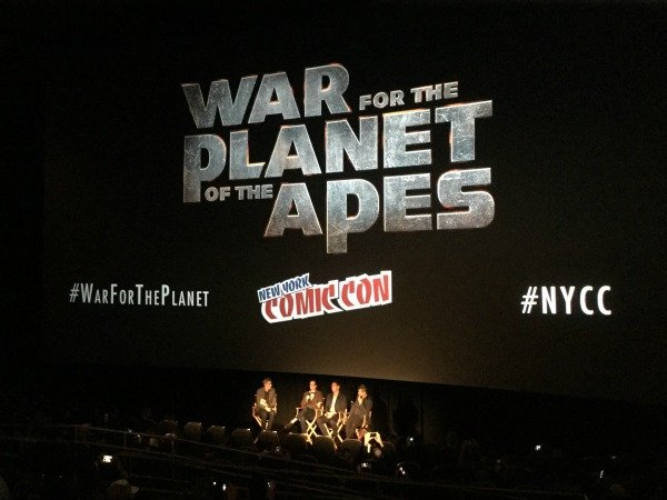 War For The Planet Of The Apes at New York Comic Con
