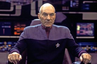 "Capt. Jean-Luc Picard (""Star Trek: The Next Generation,"" 1987-1994; ""Star Trek: The Next Generation"" movies, 1994-2002)"