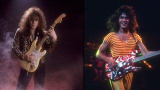 Yngwie Malmsteen and Eddie Van Halen
