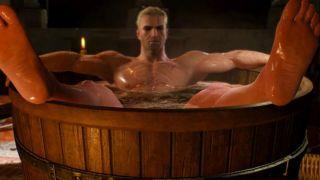 bathtub geralt