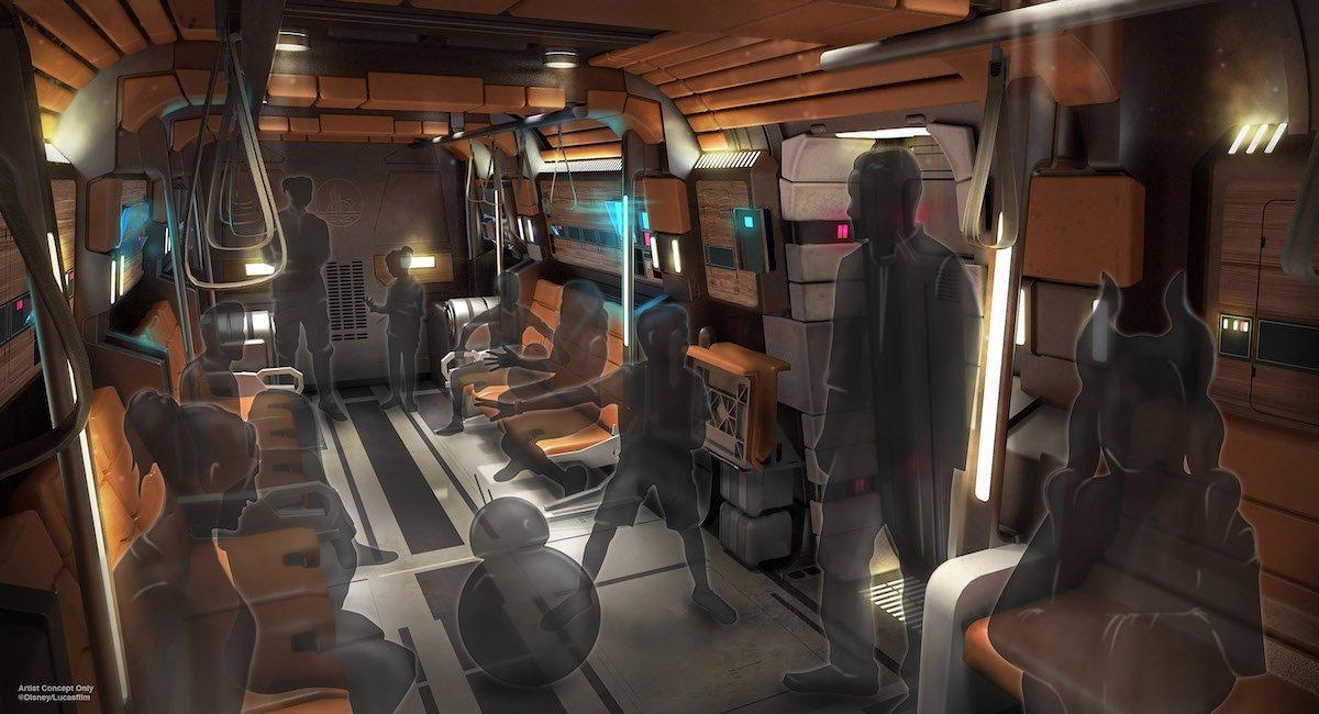 Star Wars Galactic Starcruiser Transport