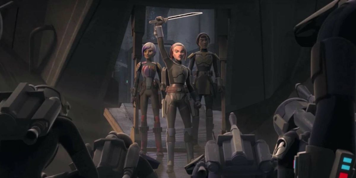 The Mandalorian's Bo-Katan And Her Connection To The Darksaber, Explained - CINEMABLEND