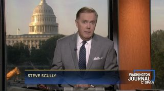 Steve Scully during a C-SPAN broadcast.