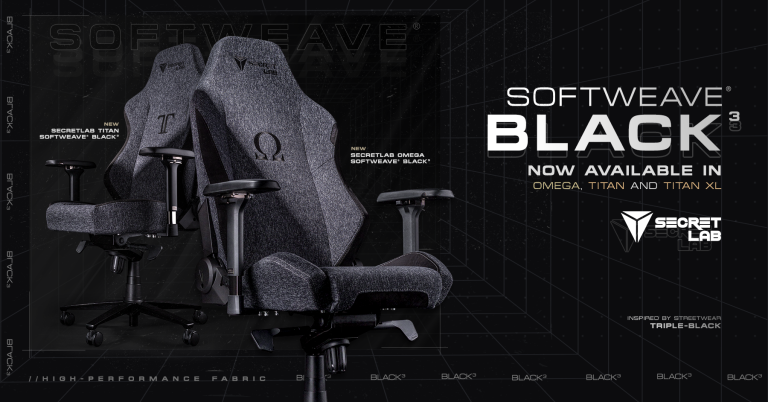 SecretLab SoftWeave Black3